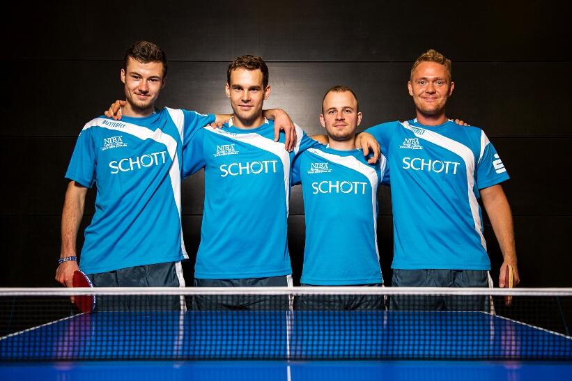 Das Team des SV SCHOTT steht vor dem Auftritt in Mühlhausen unter Druck!