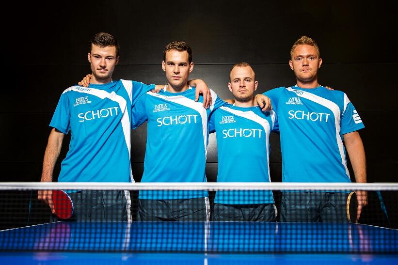 Das SCHOTT-Quartett will gegen Effeltrich punkten!