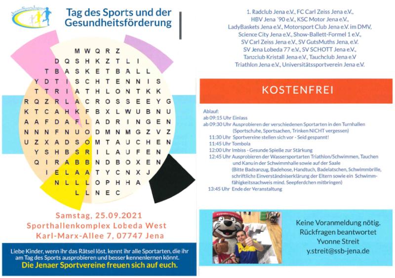 Tag des Sports 2021!