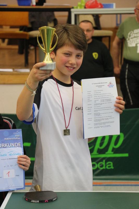 Lucas Kohlstrunk als strahlender Sieger!
