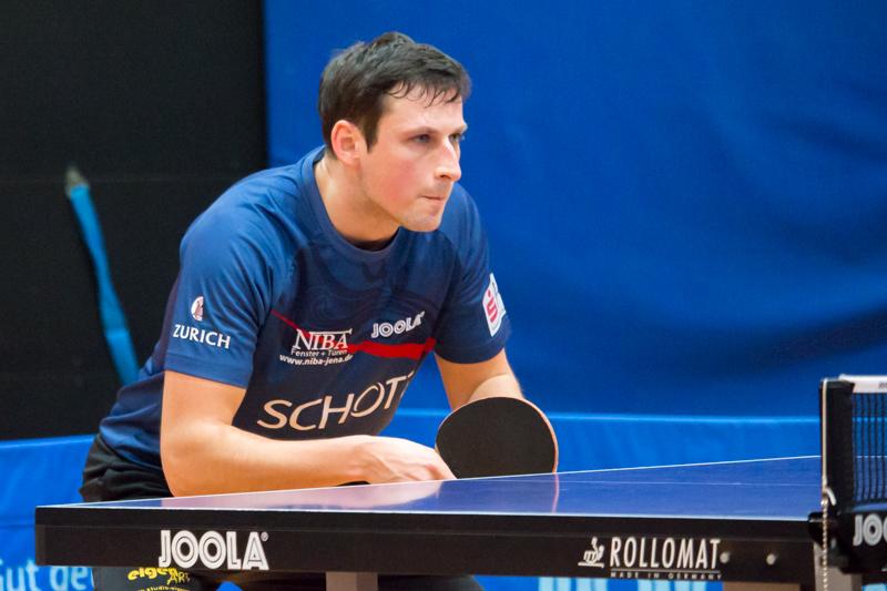 Spitzenspieler Nico Stehle führte sein Team mit 4 Einzel- und 3 Doppelerfolgen zur Meisterschaft!