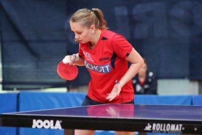 Sophie Schädlich ist mit ihrem Team gegen Süßen in der Außenseiterrolle!