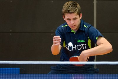 Lukas Lautsch gewann am Wochenende drei Einzel!