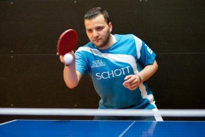 Hasan Bradei gewann am Wochenende zwei Einzel und ein Doppel!