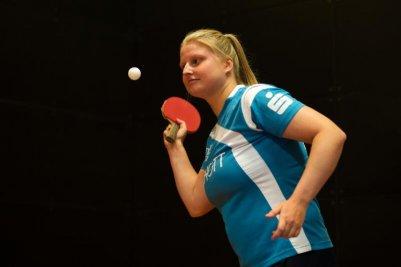 Martina Adamekova beendete die Vorrunde mit einer Einzelbilanz von 20:5 Spielen!