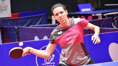 Yousra Helmy vor der WM (Quelle: ITTF)
