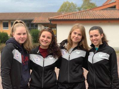 Das zuletzt erfolgreiche Damenteam des SV SCHOTT!