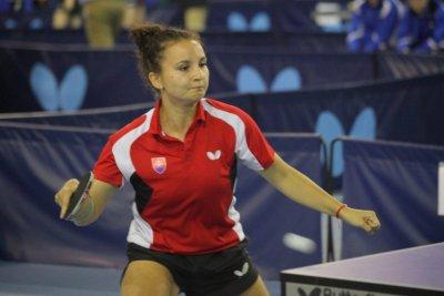 Natalia Grigelova gewann 3 Einzel und 2 Doppel!
