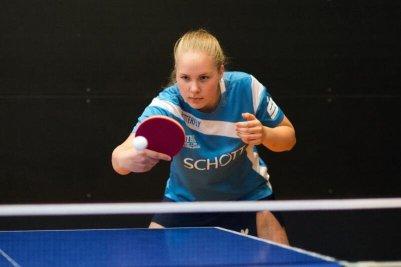 Margarita Tischenko wusste mit zwei Einzelsiegen und einem Doppelerfolg zu gefallen!