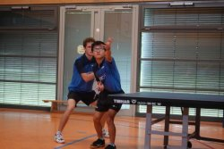 Kaito Ishida und Stephan Schulte-Nölle siegten im Doppel!